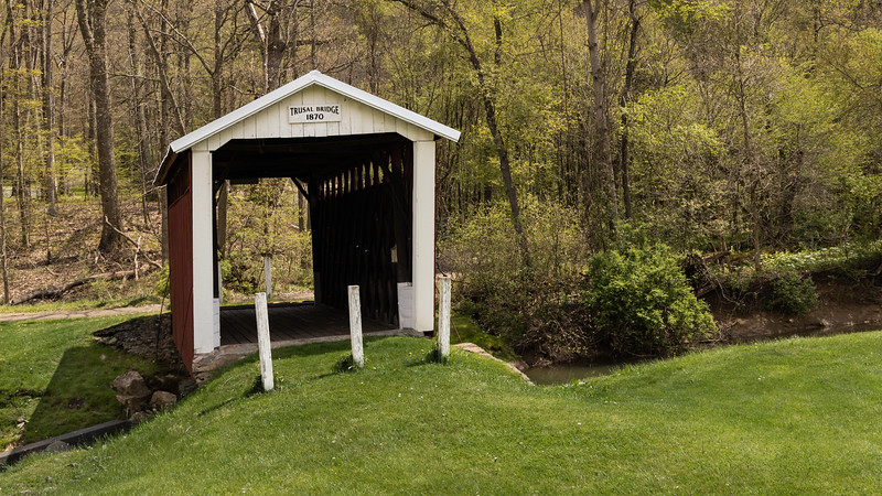Trusel Covered Bridge 4