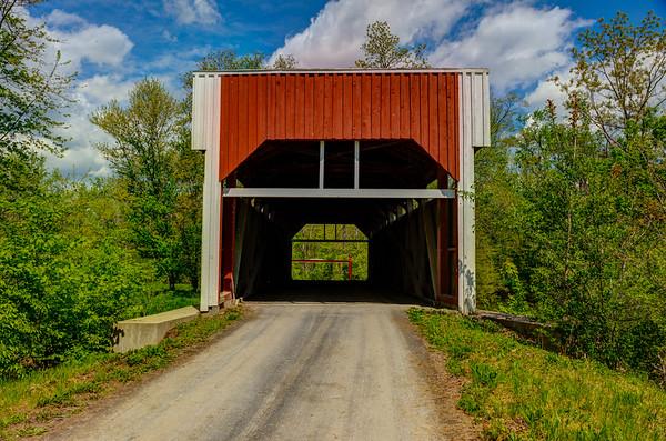 Keefer Mills Covered Bridge