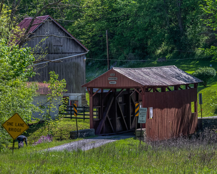 Crawford Covered Bridge 3