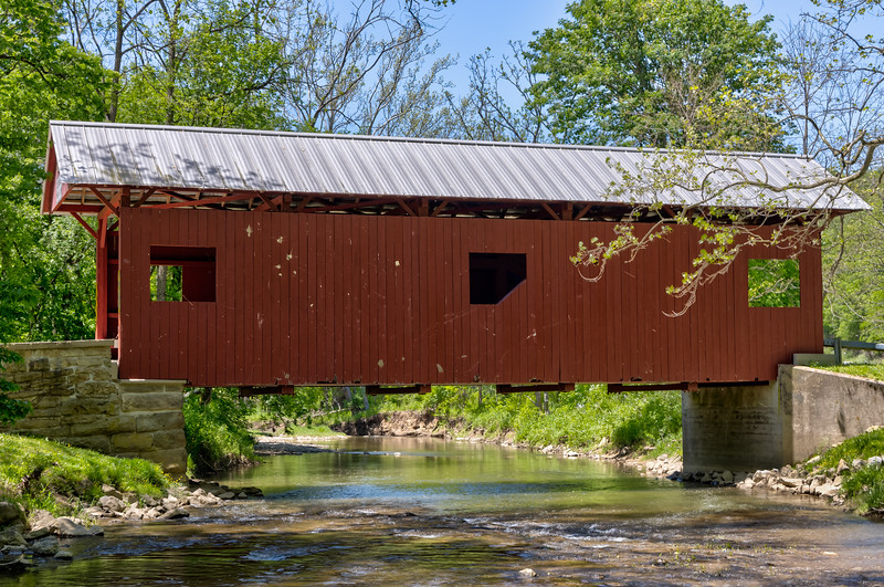 Sawhill Covered Bridge 3