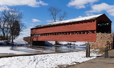 Sach's Covered Bridge in Gettysburg
