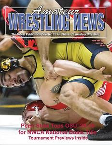 Amateur Wrestling News - 2016 03 Cover__