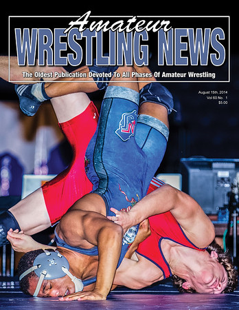 Amateur Wrestling News - 2014 08 Cover__