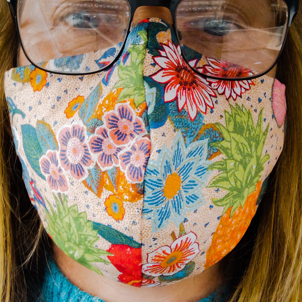 Facemask by Cathy Warne