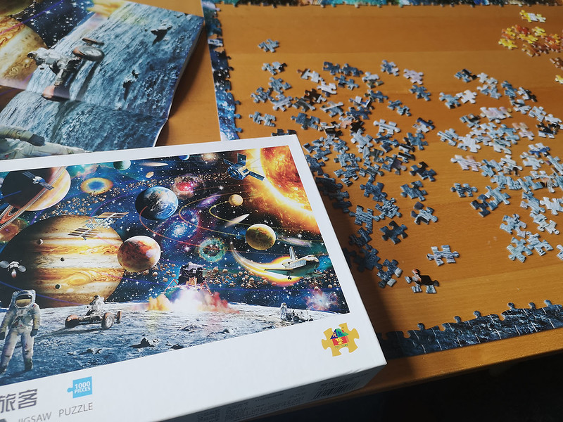 Puzzling by Cathy Warne