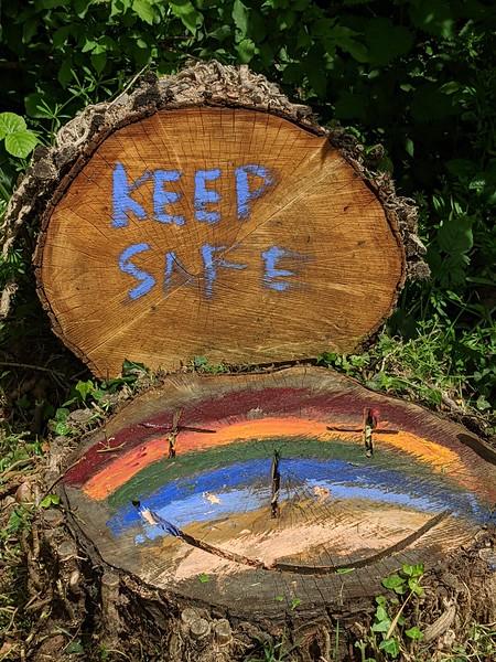 Safe log by Katie Sivier