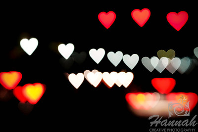 Light Hearts shot with the Lensbaby composer pro and double glass optic with the creative aperture heart disk.  © Copyright Hannah Pastrana Prieto