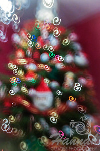 Christmas tree with Christmas lights. ….. taken with the Lensbaby Composer Pro with the double glass optic and creative aperture kit.  © Copyright Hannah Pastrana Prieto