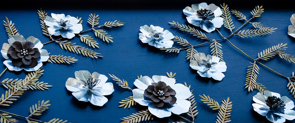 Metal Flowers