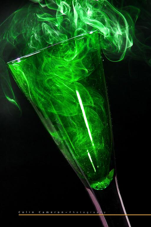 Glass O Green Smoke