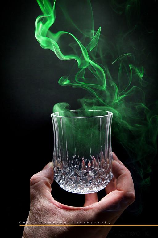 A Dram of Green Smoke