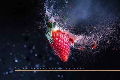 Exploding Strawberry