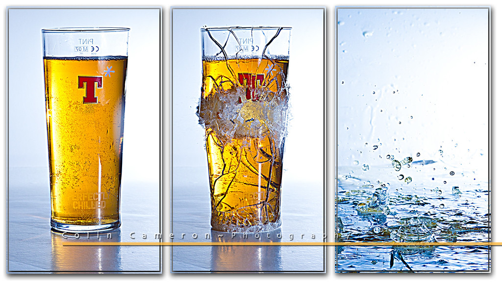 A Smashing Pint Triptych