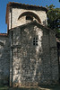 Kapela Sv. Marije Formoze (Chapel St. Mary Beautiful) - a 6th century Byzantine style only this south chapel has been preserved until today, from the early-Christian basilica of St. Mary Formosa,  constructed during the 6th century, in Byzantine style - here with the sunlight striking the tower above the crossing - Pula city.