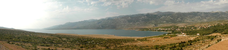 Maslenica looking at Velebit