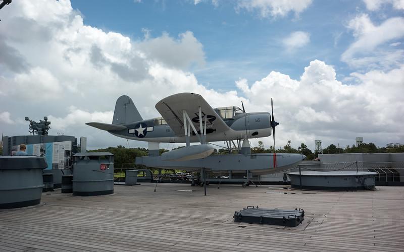 A seaplane used on the North Carolina