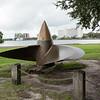 Propeller of the U.S.S. North Carolina