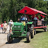 Boone Hall Plantation's open air tour ride