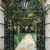 Artistic wrought iron is used extensively in Charleston