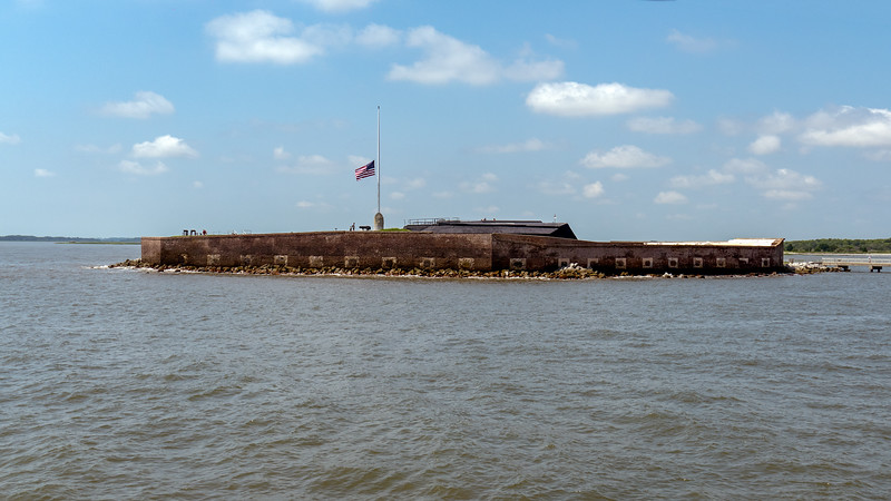 Fort Sumter (1811) - site of the start of the Civil War