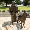 800 of 4000 scout dogs who served in Vietnam died in combat