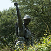 Spirit of the American Doughboy - World War I memorial (2002)
