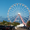 The ferris wheel at Broadway at the Beach
