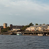Returning to the Cape Fear river dock