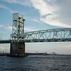 Cape Fear Memorial Bridge is 200' in height & 3033' in length