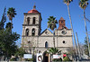San Joseph Church - founded in 1825 - the city square of Cuatro  Cienegas de Carranza - named after Venustiano Carranza, who was born here, and President of Mexico 1917-1920.