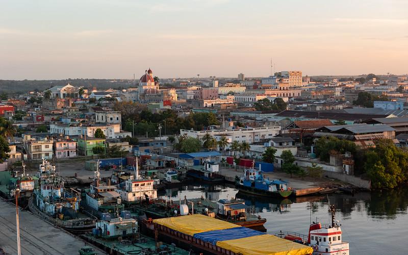 Cienfuegos port - Day 2 - December 13, 2018