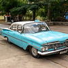 Due to the lack of available American parts these classic cars often have Russian engines