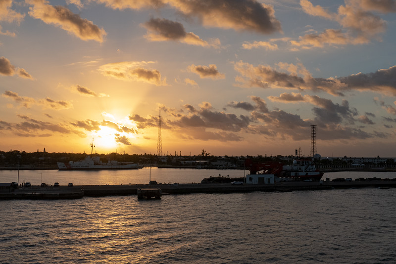 Key West sunrise - December 8, 2018