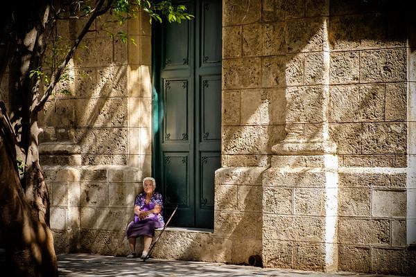 Quiet moment in Havana, Cuba.