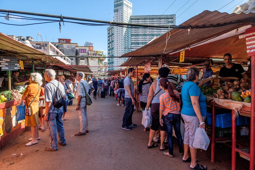 Vedado Market. Havana, Cuba.