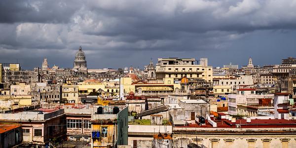 Havana from above, at La Guarida
