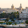 La Habana Vieja at sunset. Havana, Cuba.