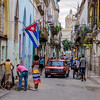 The neighborhood of Havana Vieja, Cuba.