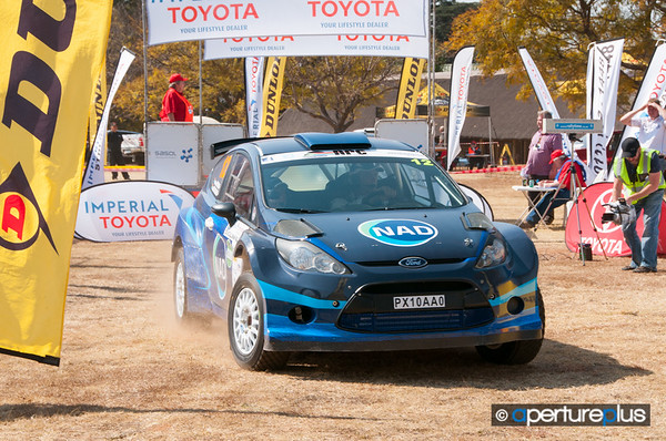 Car 12Japie Van Niekerk<br /> Gerhard Snyman