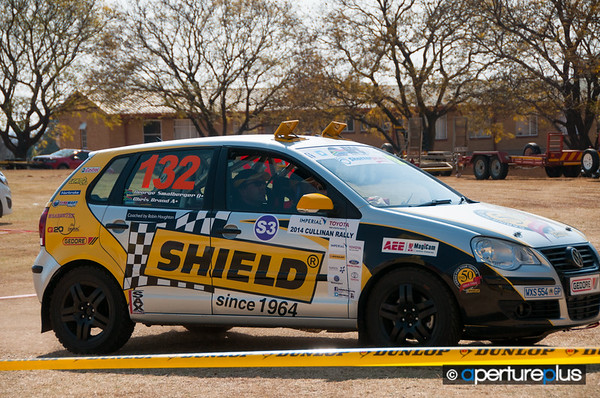 Car 132<br /> George Smalberger<br /> Chris Brand