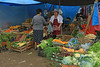 Patata transaction at the Sunday market in Libertador General San Martin town - Jujuy Province