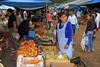 Bustling Sunday market at Libertador General San Martin town - Jujuy Province
