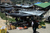 Saraguaro Market - located at about 8,200 ft. (2,500 m) in the northeastern South Ecuador Andes - about 60 mi. (100 km) from the Pacific in the Gulf of Guayaquil and 100 mi. (160 km) from the lowlands of the western Amazon Basin.