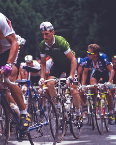 Sean Kelly (IRL), with Greg lemond, World Road Championships, Japan 1990