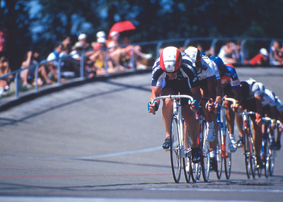 Ron Storer leads Points Race, Sundance Grand prix, Seattle 1988