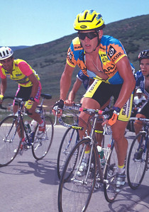 A young Lance Armstrong, US National Road Championships, park City, UT