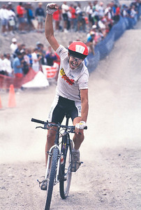 Ned Overend wins NORBA World Cross Country Title, Big Bear, CA 1988