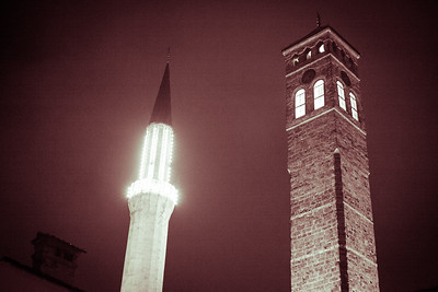 The neighbours from different religions, Sarajevo