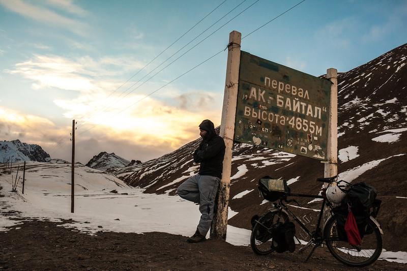 Akbaital pass, 4655m (Tajikistan)