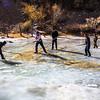 Hockey match in Pamir, Tajikistan